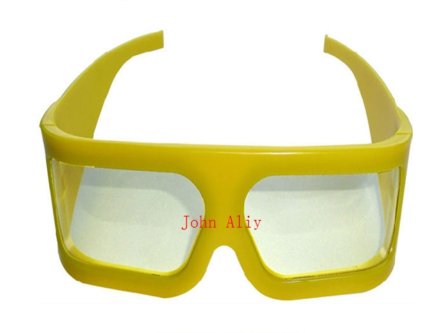 aef4c381e1f Brand new Plastic Cinema 3d linear polarized glasses