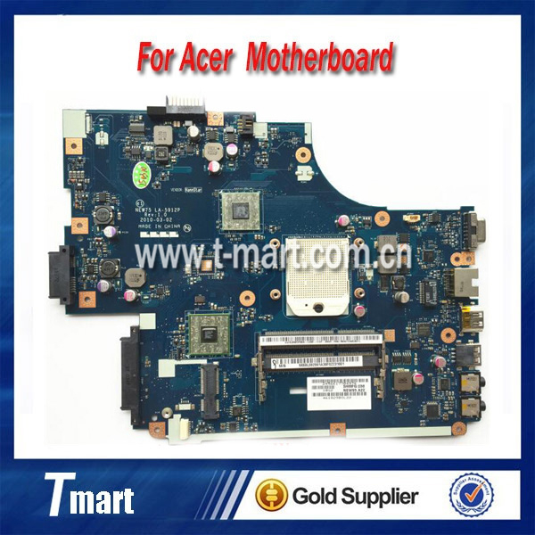 100% working Laptop Motherboard for ACER 5551 NEW75 LA-5912P MBBL002001 System Board fully tested куплю маз 5551 5549 в украине