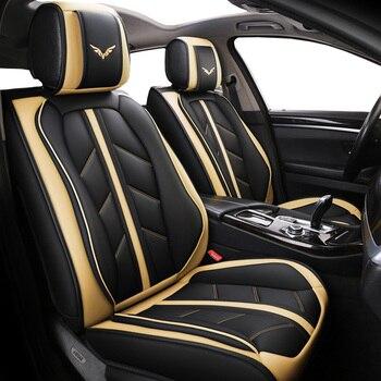 Высокое качество Специальный кожаный чехол автокресла для mercedes benz E C Viano ML GLK gla GLE GL CLA CLS S R A B CLK, SLK G GLS GLC автомобиль