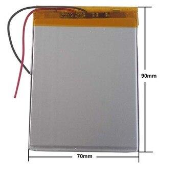 Universal Batterie Pack Für Texet TM 7096 TM 7049 TEXET X pad HIT 7 3G TM 7866 Tablet Batterie innere 3500 mah 3,7 V Polymer li ion Tablet-Akkus & Backup-Stromversorgung Computer und Büro -