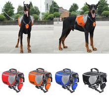 TAILUP luxury Pet Outdoor Backpack Large Dog Adjustable Saddle Bag Harness Carrier For Traveling Hiking Camping clothing for dog