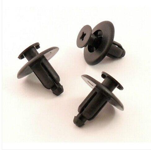 Per clip di fissaggio per finiture esterni/interni carrozzeria per toyota per nissan 7mm x10