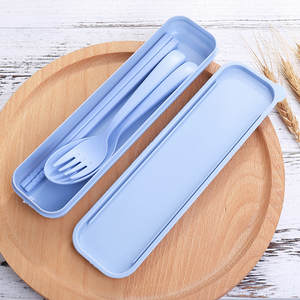 ZMHEGW Spoon Fork Travel Chopsticks Tableware Cutlery