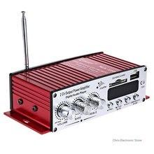 Mesuvida Kinter MA-120 Double Canaux Portable Mini Multifonctionnel De Voiture HiFi Audio Amplificateur FM Fonction support SD Carte USB