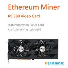 Ethereum Miner R9 380 Grafikkarte für Ether Bergbau Bitcoin Bergbau und X11 Bergbau(China (Mainland))