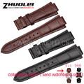 24 * terminal de 14mm-18mm hebilla de correa para T60 correas de cuero Genuino para los hombres relojes de Pulsera pulsera de la venda