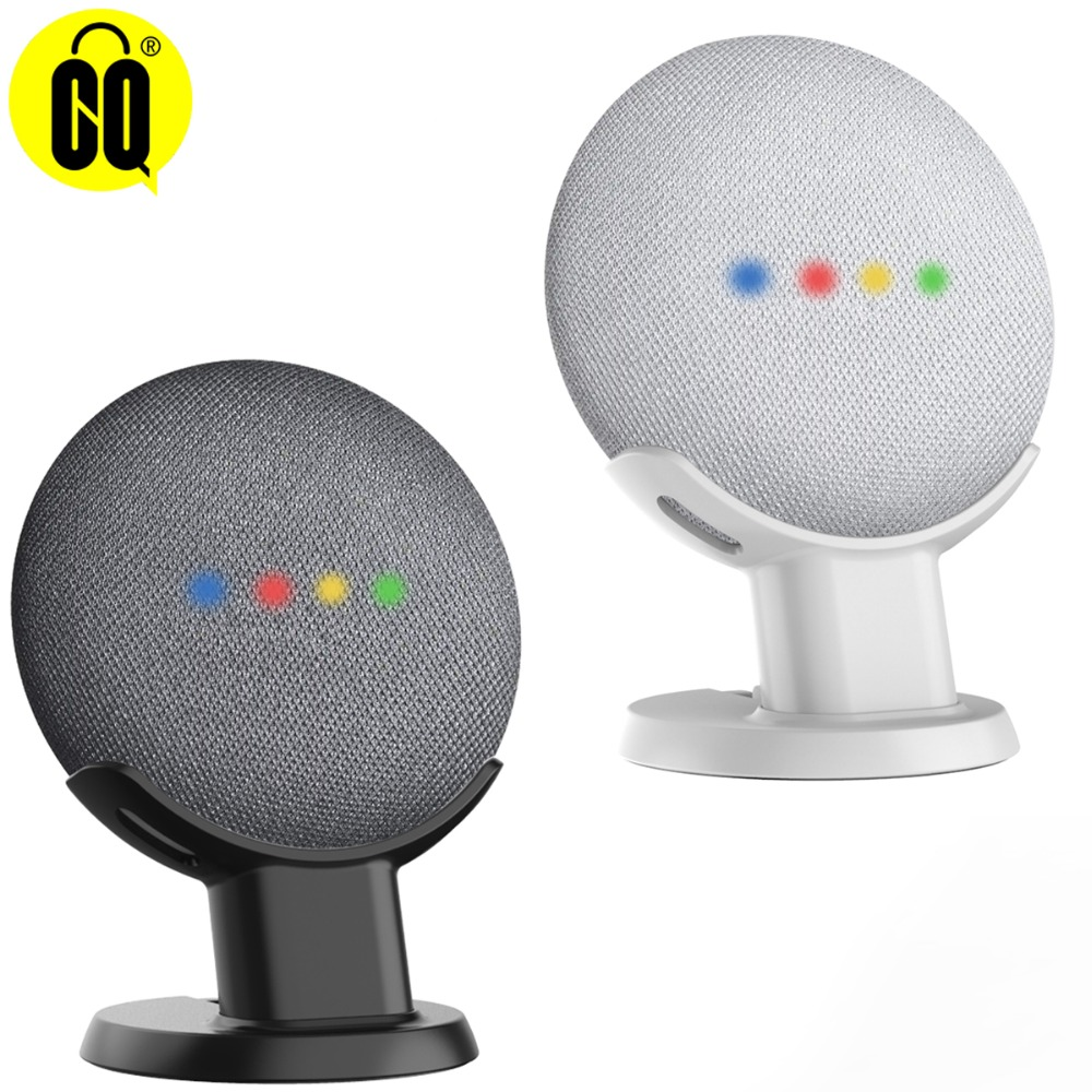 Desktop Stand For Google Home Mini Voice Assistants Compact Holder Case Plug in Kitchen Bedroom Bedroom in Phone Holders Stands from Cellphones Telecommunications