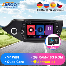 Android 9.1 Car DVD Player GPS Glonass Navigation Multimedia for Kia Ceed 2013 2014 2015 Auto RDS Radio Audio Video Stereo цена