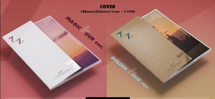[MYKPOP] ~ officiel ~ GOT7 7 pour 7 ensemble d'album KPOP Fans Collection SA19030301