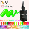 Fluorescentes LED Spray Gel Varnish Cody 50ml Gel Nail Polish Sunrim 15 UV Gel Neon Colors Nail Art Nagellak Vernis a Ongle