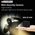 Camara With IP P2P WiFi Mini Camera CAMSOY C1 Wearable Body Magnetic HD720P Compatible With Gopro Accessories