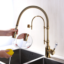 Free shipping H59 brass body revolve two-way washing mounting hardware G3/8″ for the   kitchen sink faucet