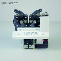 Metal Frame High Precision 3D Printer Anti clogging Dual Extruder for Xinkebot Orca2 Cygnus Large 3D Printer