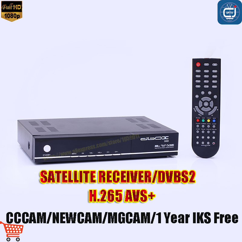 V8 CCCAM Satellite TV Receiver  IPTV Europe AVS H.265 IPTV Set Top Box With 1 Year IKS Rree NEWCAM MAGCAM TV BOX satellite tv receiver x international tv box set top box tv receiver set w remote controller