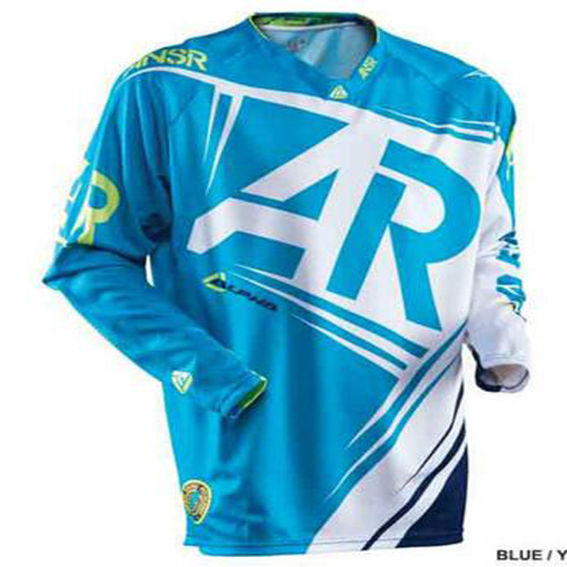 2018 MTB Downhill Jersey Mountain mtb jersey Motorcycle long sleeve MX jersey Shirt Ciclismo Clothes for Men Riding Shirts