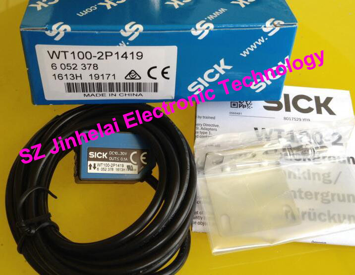 100% New and original  WT100-2P1419  SICK  Photoelectric switch, photoelectric sensor 100% new and original fotek photoelectric switch dm 1mn mr 1 npn