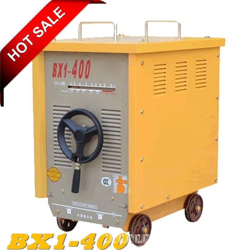 BX1-400 soudeuse électrique haute qualité industrielle Machine de soudage monophasé 380 V AC Machine de soudage à l'arc 50/60Hz 12.2KW 83-400A