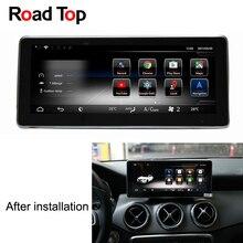 10.25″ Android 7.1 Car Radio GPS Navigation Bluetooth WiFi Head Unit Screen for Mercedes Benz GLA180 GLA200 GLA250 GLA220 GLA45