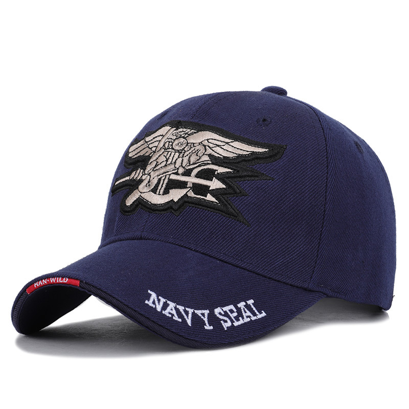 Seal Assault Tactical Baseball Cap Men And Women's Couple City Outdoor Sports Sunshade Marine Corps Captain Hat Cordory Military