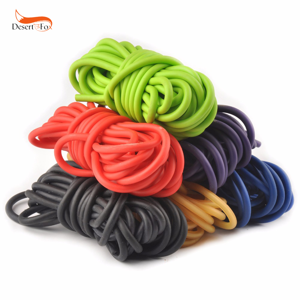 Open Box Wizard Slingshot Replacement Rubber Power Bands Orange Color