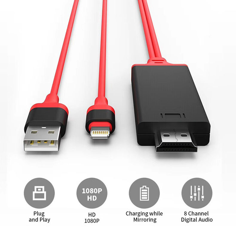first rate a7ebf 1dc12 top 10 most popular iphone 6 hdmi cable for ideas and get free ...