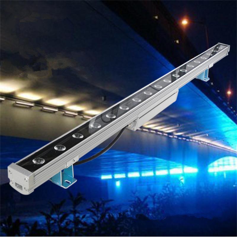 Mur LED rondelle lumière Reflector18W Projecteur Exterieur autoroute LED Strahler AC85-265V projecteurs aluminium adieu LED Esterno