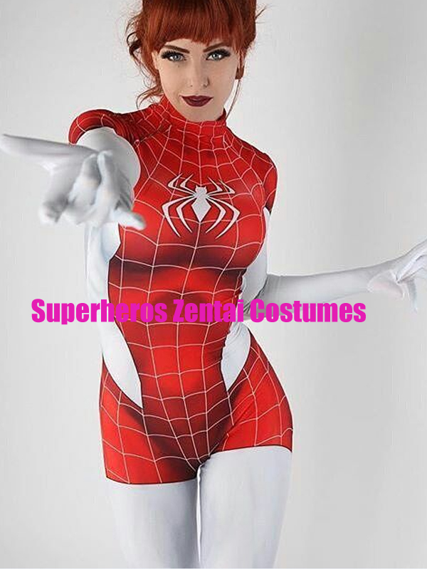 Aliexpress.com : Buy 3D Printed Mary Jane Spider Girl ...