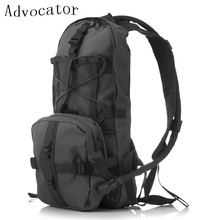 Advocator Solid Color Hydration Backpack 2L Water Bag Military Men Bicycle Backpacking Bag Army Ultralight Teenager Daypack
