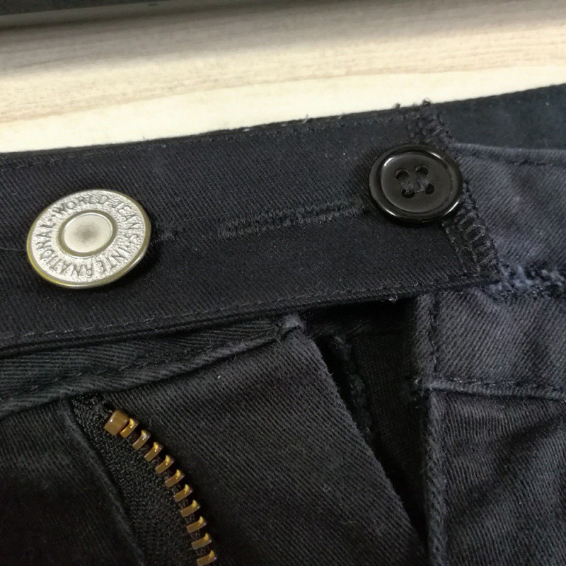 Cloth Belt Extension Pants Buckle Waistband Extension Elastic Adjustment Elastic Buckle for Suit Pants Jeans(China)