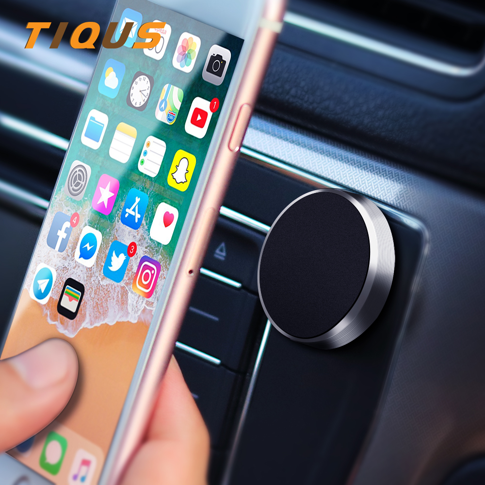 Multifunction Magnetic Mobile Phone Car Holder for iPhone 7 Plus