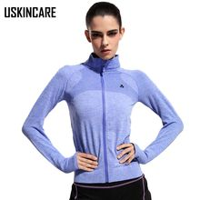 5 Color Women Running Jacket Gym Coat Polyester Breathable Quick Dry Anti-pilling Mandarin Outdoor Fitness Jackets For Female