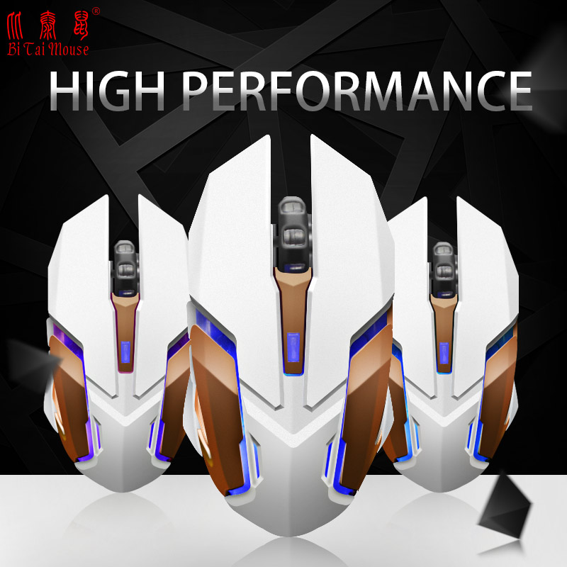 2.4Ghz Wireless Charge the Mouse Gaming Mouse 1600DPI 7Colors Light 10 Meters ...