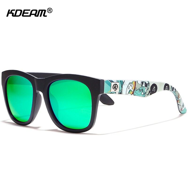 KDEAM All-day Comfort Men Polarized Sunglasses Melanin-infused Polaroid Sun Glasses Partten Shades Suit For Women KD728
