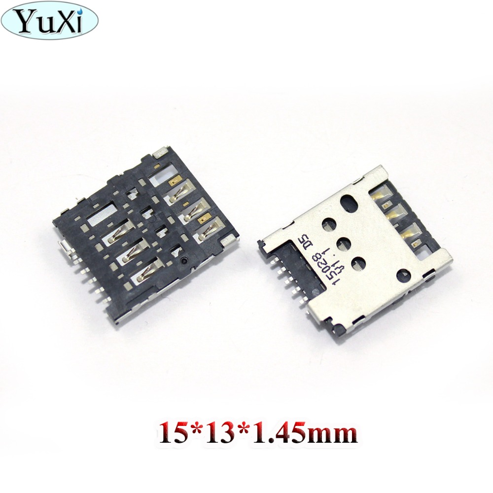 YuXi SIM Card Reader Slot Tray Holder Connector For Nokia X XL Lumia 630 638 636 635 RM-1010 980 635 636 530 N530 N630 Socket