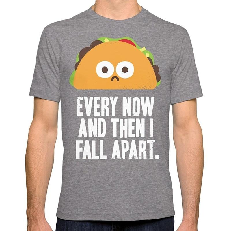 T Shirt Casual Tees Short Short O-Neck Mens Taco Eclipse Of The Heart T Shirts