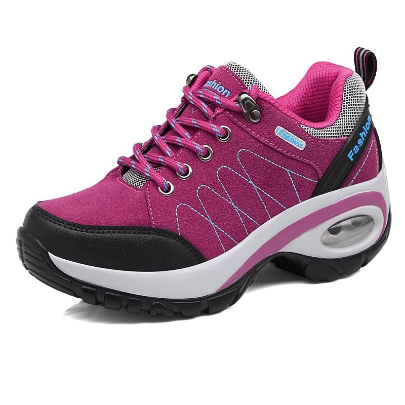 2017 New Cool font b Hiking b font Shoes Women Outdoor Air Cushion Female font b