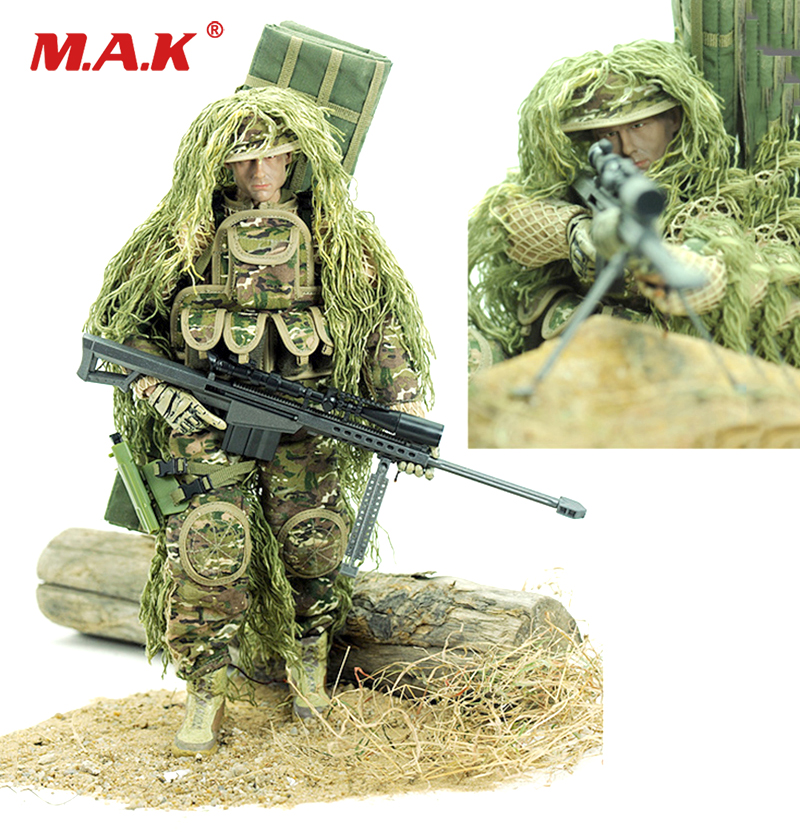 30cm Full set action figure 1/6 Sniper set Soldier figure Model 12 Inch American Soldier Man Military Model for Collection decool 10589 hero factory 6 0 star soldier action figure surge