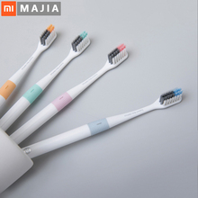 Xiaomi Doctor B Toothbrush With travel box case Bass Method Sandwish bedded Brush Wire 4 Colors For xiaomi smart home