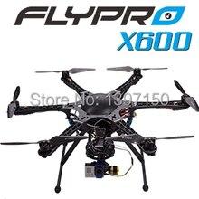 Оригинальный FLYPRO X600 с DEVO 7 rc беспилотный quadcopter Hexacopters для FPV RTF 2.4 ГГц квадрокоптер