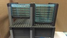 Volumen Tor Garage Stadt swat polizei militärische taktische DIY modell waffe zubehör DIY zahlen original Block ilitary mini Bltoy