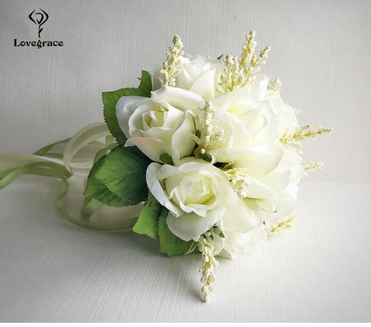 wedding bouquet for bridal bridesmaid flowers (4)