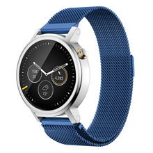 Watchband 20mm silver Strap Milanese Magnetic Loop Stainless Steel Band for Men 42mm for MOTO 360 2nd Watch Bracelet WatchBand