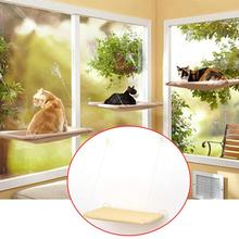 New 20KG Cat Basking Window Hammock Perch Cushion Bed Hanging Shelf Seat Great for Multiple Cats of Household