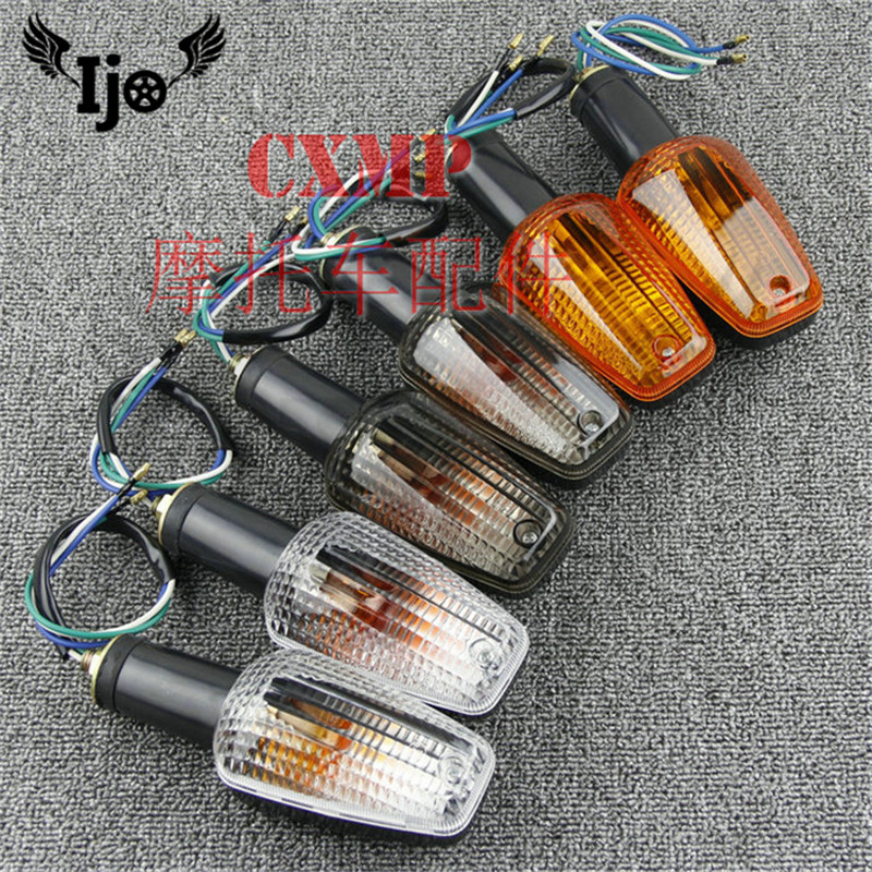 3 colors brand scooter indicator accessories motorbike flashing for honda CB400 CB1300 VTEC flashers motorcycle turn signal moto