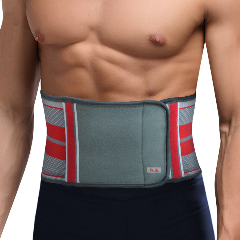 New Kuangmi Fitness Slimming Exercise Waist Belts Breathable Bodybuilding Back Support Lumbar Braces Protection Belt