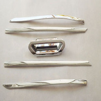 For Ford Escape Kuga 2013 2014 Chrome Rear Door Handle Bowl Covers Decoration Ring Trim Car
