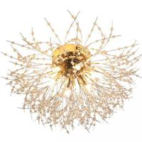 Dandelion Ceiling Lamp Warm Romantic Bedroom Wedding Room Modern Ceiling Light Kids Room Led Living Room Lamps