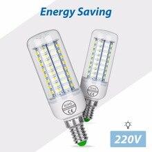 LED Corn Bulb 220V E27 Energy saving Lamp 5730 SMD Candle Light E14 bombillas led 24 36 48 56 69 72leds Kitchen Pendant Lights