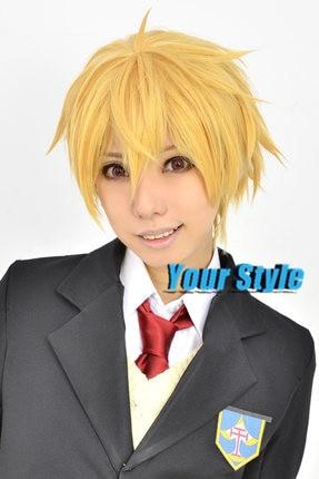 free  hazuki nagisa wig cosplay synthetic boy short pixie