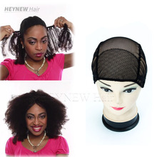 Wholesale deluxe multi use weaving caps spandex 10pcs Lot Free Shipping adjustable lace wig cap for